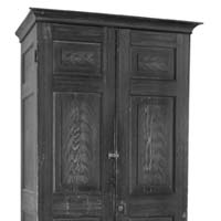 William Barton Rogers Cabinet