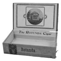 Rotunda Cigar Box