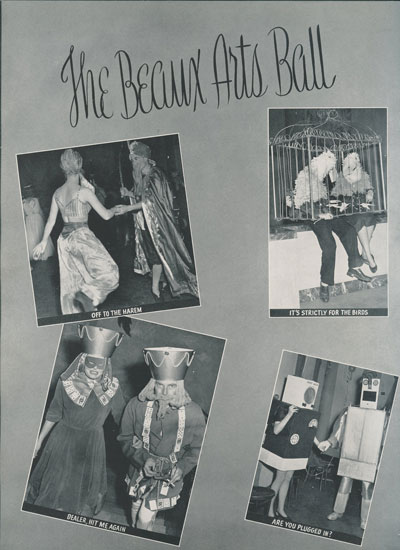 Beaux Arts Ball, 1952