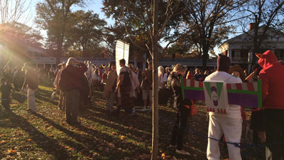 Halloween on the Lawn, 2015