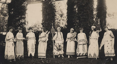 Summer Sessions Shakespeare productions, circa 1912